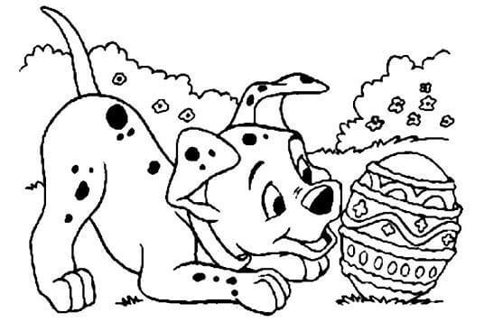 Dibujos de perros para pintar y colorear - Imágenes para Pintar