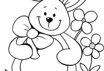 Dibujos de Osos para niños para pintar