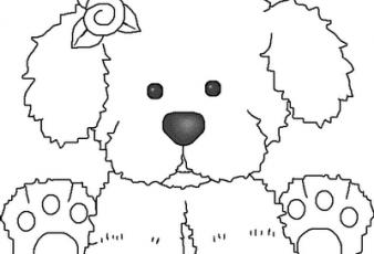 Imagenes de Perritos Para Pintar