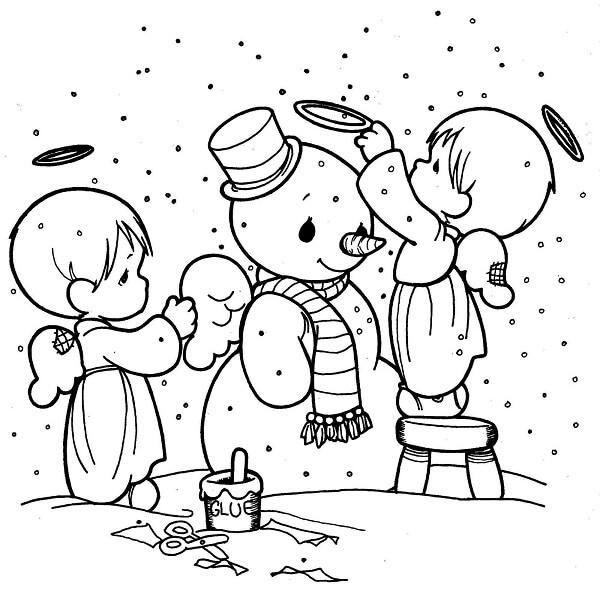 Dibujos de Navidad para Pintar y Colorear Gratis