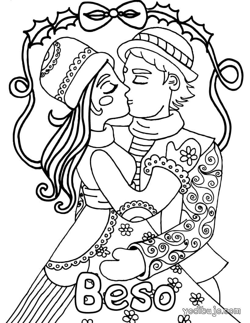 Dibujos para colorear de Principes y Princesas