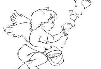 dibujo de corazones de amor