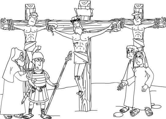 dibujos de Viernes santo