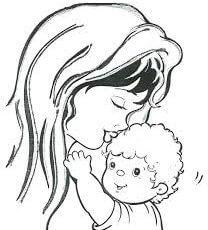dibujos de dia de la Madre