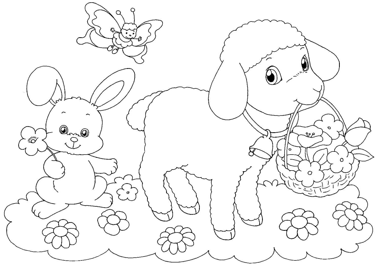 Dibujos para colorear y pintar para facebook