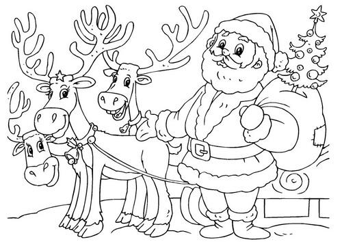 Dibujos De Navidad Muy Bonitos.Dibujos De Navidad Llenos De Alegria Dibujos Para Pintar