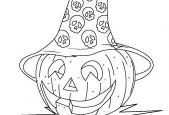 Dibujo de halloween colorear