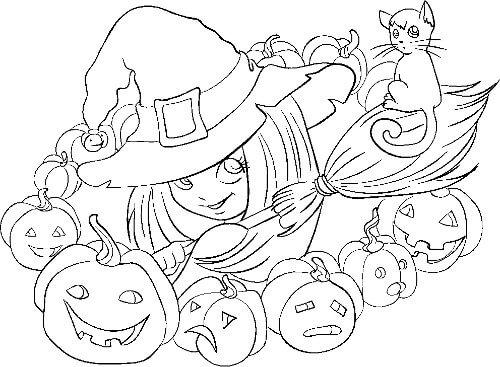 Dibujos de halloween para pintar