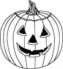 Dibujos de hermosa calabaza Halloween