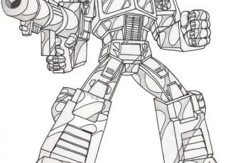 Dibujos de transformers optimus prime