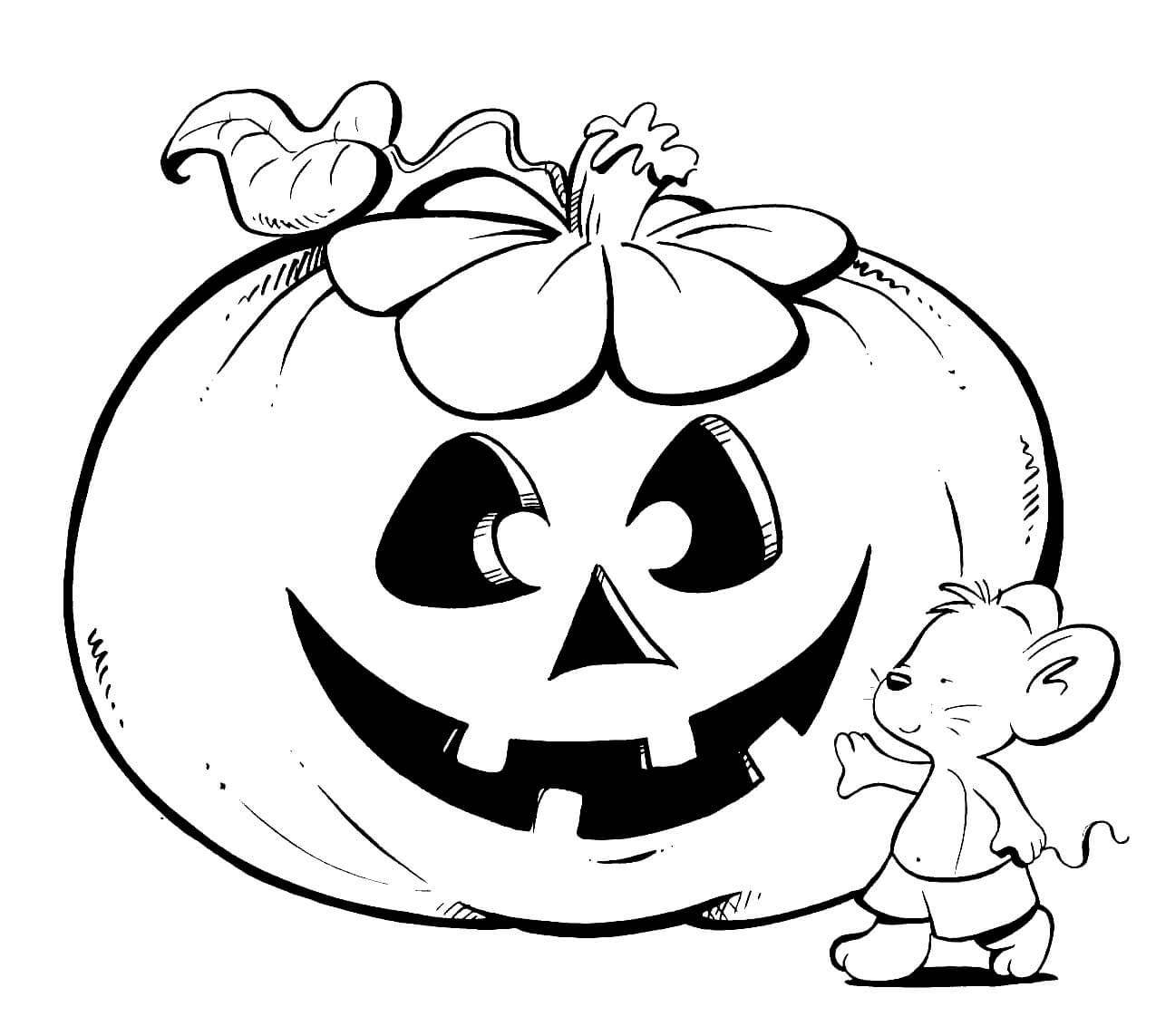 Dibujos para halloween para colorear