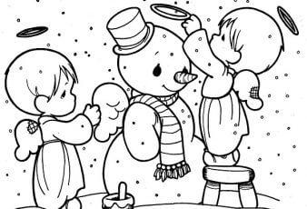 Muñecos de Navidad paraPintar