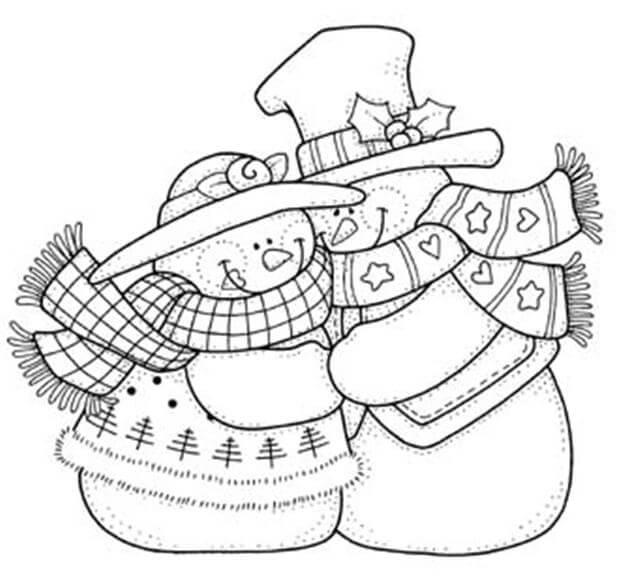 Imagenes de dibujos para colorear navidad