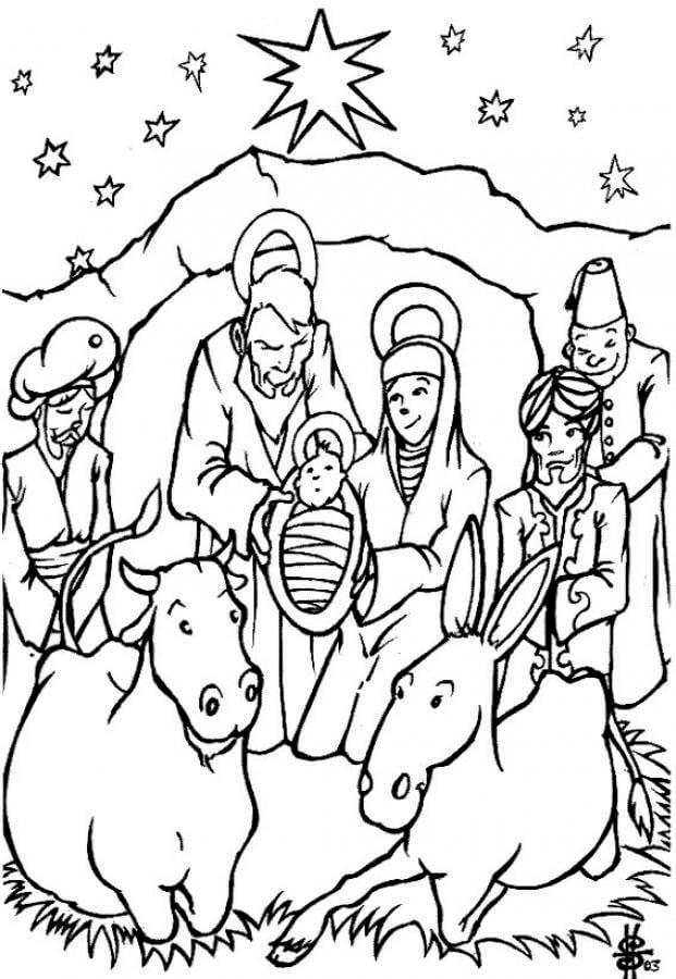 Dibujos de navidad dibujos para pintar y colorear gratis - Dibujos de navidad para colorear gratis ...