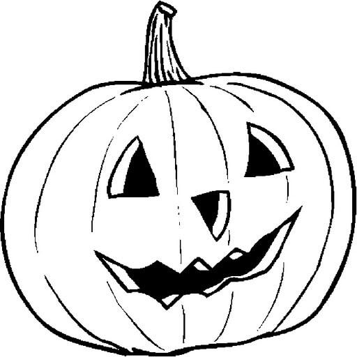 dibujos de calabazas halloween para colorear
