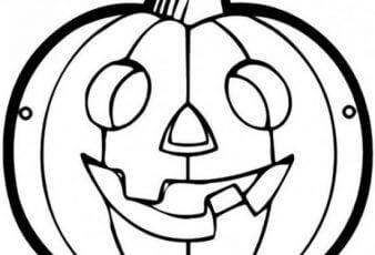 mascaras halloween calabaza colorear