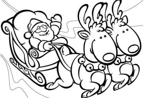 Dibujos Para Colorear Navidad 2014 Dibujos Para Pintar Y