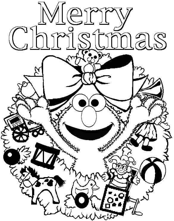 Dibujos de Feliz Navidad para Pintar