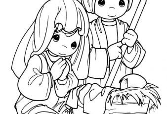 Dibujos de nacimiento de jesús