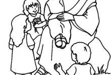 Imágenes de Navidad: Nacimiento de jesús para pintar