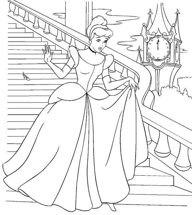 Dibujos de Princesas para Pintar y Colorear